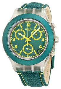 Swatch Swatch Unisex Fashion Watch SVCK4070 Green Analog