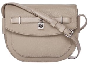 Tory Burch French Gray Messenger Bag