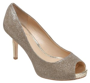 Vince Camuto Gold/Silver Pumps