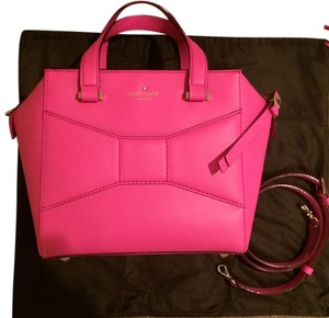 Kate Spade Leather Satchel in Pink