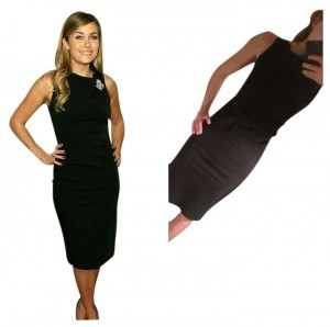 AKA New York Lauren Conrad Ruched Strech Ruched Dress