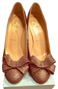 Butter multi-glitter Pumps
