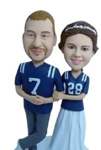 Personalized Wedding Cake Toppers Custom Wedding Cake Toppers Bobblehead Cake Topper Customize