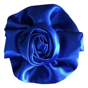 Other Flower Royal Blue Hair Clip