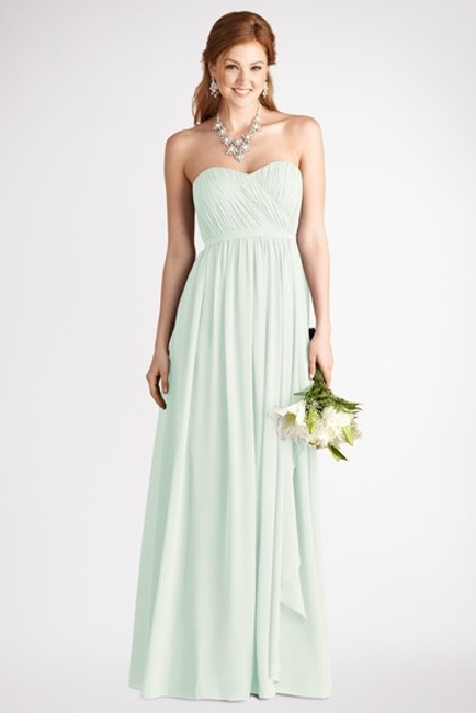 Item - Hint Of Mint Polyester Lily D1463mxehom Formal Bridesmaid/Mob Dress Size 2 (XS)