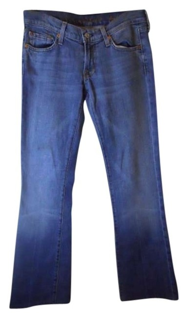 Preload https://item1.tradesy.com/images/7-for-all-mankind-blue-medium-wash-boot-cut-jeans-size-26-2-xs-158315-0-0.jpg?width=400&height=650