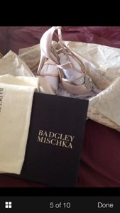 Badgley Mischka Blush Pink Size US 8.5 Regular (M, B)