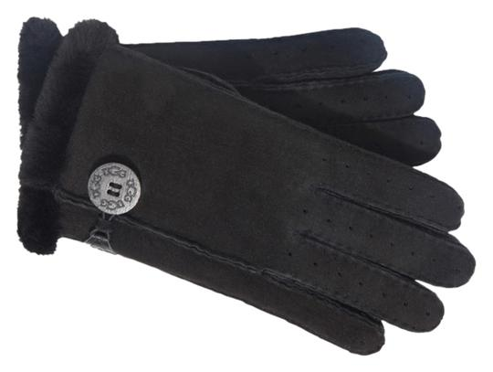 UGG Australia UGG Classic Bailey Glove - Black, Small, Shearling Sheepskin