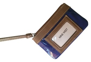 Nine West Royal Blue wristlet