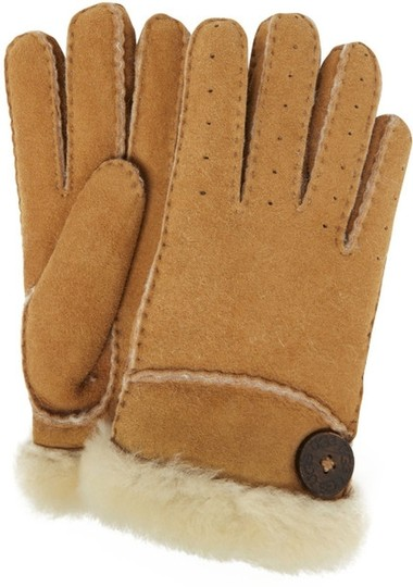 UGG Australia UGG Classic Bailey Glove - Chestnut, Medium, Shearling Sheepskin