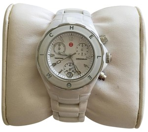 Michele MICHELE 'Tahitian' Ceramic Bracelet Watch