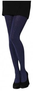 Cynthia Rowley Studded New Legwear Navy Leggings