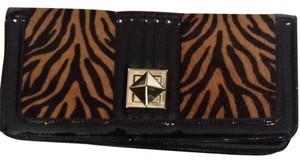 White House | Black Market Black, Calf Hair Clutch