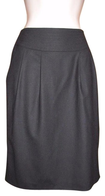 Preload https://img-static.tradesy.com/item/15835612/pure-collection-black-uk-8-felted-stretch-wool-pencil-knee-length-skirt-size-2-xs-26-0-1-650-650.jpg
