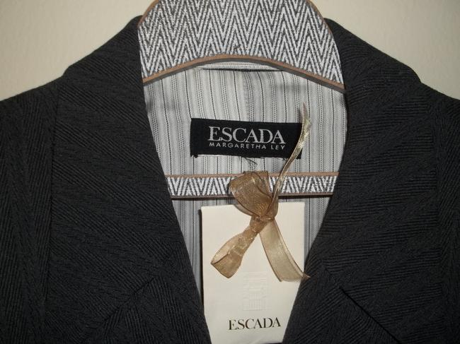 Escada Elegant Menswear-style Charcoal Gray Jacket