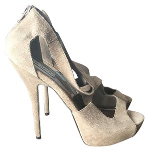 Steve Madden Grey Platforms