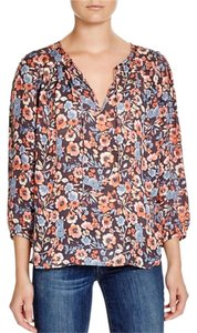 Joie Barba Floral Top Stingray