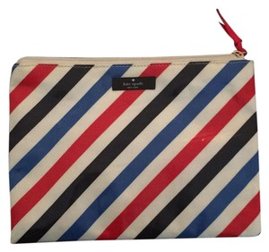 Kate Spade Red White Blue Clutch
