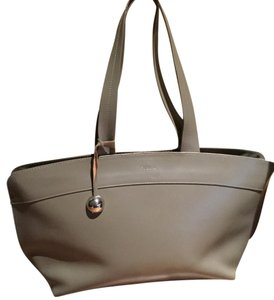 Furla Tote in Gray/beige
