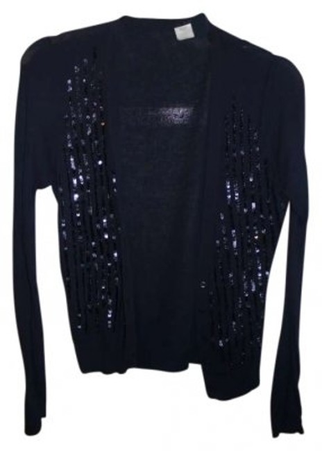 Preload https://item1.tradesy.com/images/jcrew-navy-sequins-cardigan-size-8-m-158370-0-0.jpg?width=400&height=650