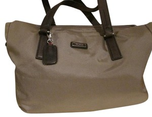 Tumi Tote in Brown Tweed