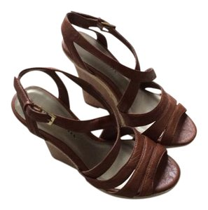 Charlotte Russe Tan/brown Wedges