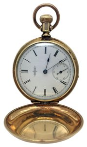 Elgin Vintage beautiful Elgin 14k Gold Filled Pocket Watch