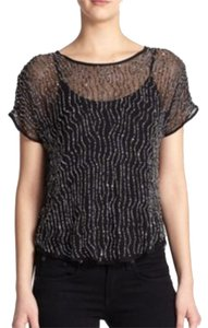 Parker Top Black Sequin