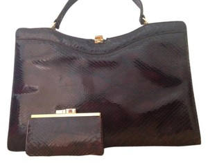 El Corte Ingles Satchel in Black