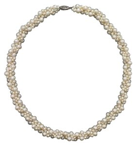 Bloomingdale's Bloomingdale's Cultured Freshwater Pearl Woven Necklace and Bracelet Set