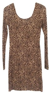 H&M short dress leopard on Tradesy