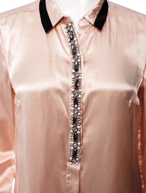 Preload https://img-static.tradesy.com/item/15839164/tory-burch-pink-and-black-sequin-embellished-long-sleeve-blouse-night-out-top-size-12-l-0-3-650-650.jpg