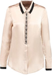 Tory Burch Sequin Top Pink and black
