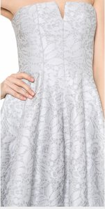 Halston Lace Floral Dress