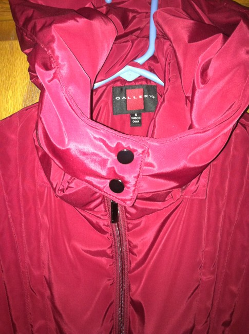 Gallery Winter Hooded Red Jacket