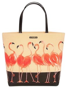 Kate Spade Bon Shopper Take A Walk Tote in Flamingo