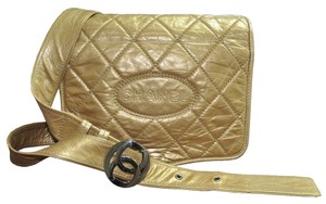 Chanel Soft Leather Messenger Handbag Cross Body Bag