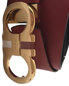 Salvatore Ferragamo Giancini Reversible Belt Size 80cm