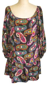 Isabel Marant short dress MULTI Ikat Silk Ulla Johnson Boho on Tradesy