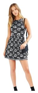 Urban Outfitters short dress Black & Silver on Tradesy