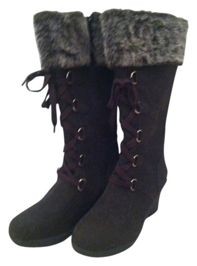 Preload https://img-static.tradesy.com/item/15841/rampage-brown-qute-wedge-lace-up-with-faux-fur-bootsbooties-size-us-85-regular-m-b-0-0-540-540.jpg