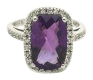 Sonia B. Bitton Sonia B. Bitton 3.0CT Amethyst diamonds Ring Set in 14k White Gold