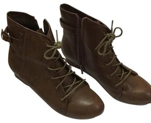 Eddie Marc Coffee Boots