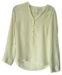 LC Lauren Conrad Top Yellow