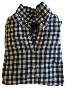Tommy Hilfiger Button Down Shirt Navy/white