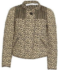 Isabel Marant Indian Quilted Reversible Military Jacket