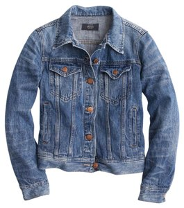 J.Crew Denim Tyler Jean Womens Jean Jacket