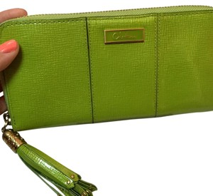 Cole Haan Lime Green Clutch