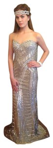 Jovani Champagne 98659 Dress