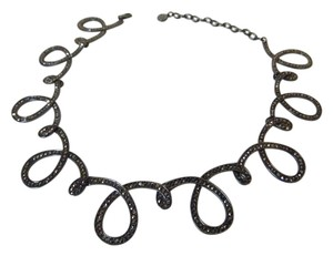 "R.J. Graziano R.J. Graziano ""Glow On"" Crystal Loop Necklace 15-1/4"" w/ 3-1/4"" Extender"